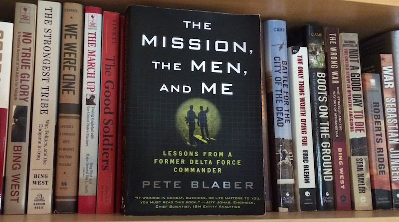 "Book Review: ""The Mission, The Men, and Me"" by Pete Blaber"
